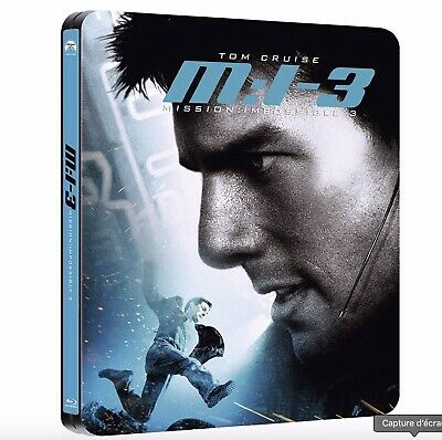 MISSION IMPOSSIBLE 3 - Blu-Ray Steelbook - Neuf sous blister