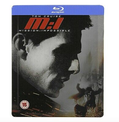 MISSION IMPOSSIBLE 1 - Blu-Ray Steelbook - Neuf sous blister