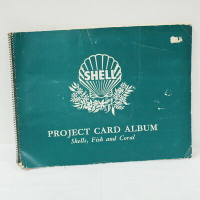 Shell Project Card Album: Shells, Fish and Coral, Complete With Cards #305