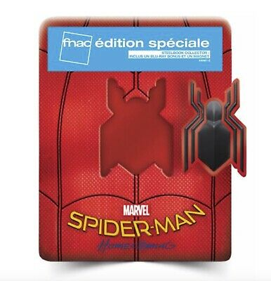 Spider-Man Homecoming - Steelbook - Edition Spéciale Fnac Blu-ray - NEUF