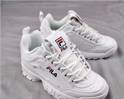 elegant shoes price reduced usa cheap sale CHAUSSURES DE SPORT FILA Disruptor II 2 authentiques chaussures blanches  unisexe