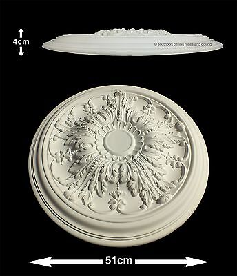 51cm Diameter, Lightweight Ceiling Rose (made of strong resin not polystyrene)