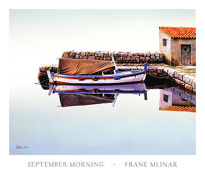 Frane Mlinar September Morning Poster Kunstdruck Bild 66x78cm