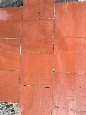 "Reclaimed Terracotta Quarry Floor Tiles 6""X6"" Excellent Quality, 500 For All 250"