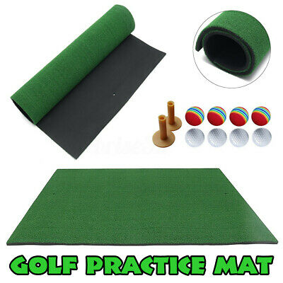Indoor Golf Practice Grass Mat Residential Training Hitting Turf Mat W/
