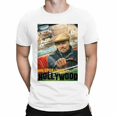 Leonardo Dicaprio Once Upon A Time Hollywood  Mens T-Shirt Rick Dalton T shirt
