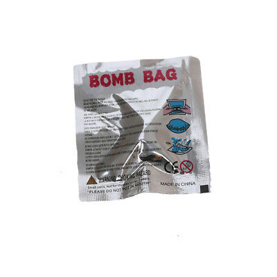 5X Funny Fart Bomb Bags Stink Bomb Smelly Funny Gags Practical Jokes Fool Toy a!