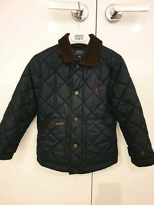 Polo Ralph Lauren Boys Quilted Jacket Size 4T
