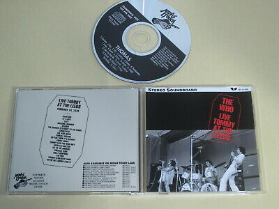 The Who - Live Tommy At The Leeds / Midas Touch / 1970 UK