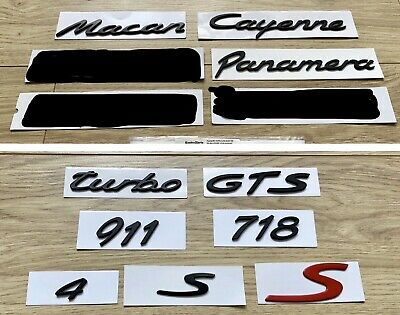 Macan Gts Boxster S Cayenne Panamera 4 Carrera 718 Turbo 911 Red S Fits Porsche