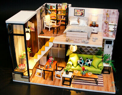 DIY Handcraft Miniature Project Dolls House My Little Apartment in Oslo Norway