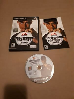 Tiger Woods PGA TOUR 2005 - Playstation 2 PS2 Game - Complete & Tested CIB