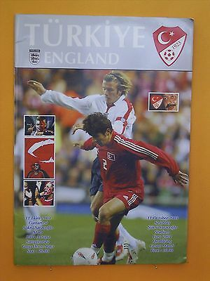 European Championship Qualifier - Turkey v England - 11th October 2003