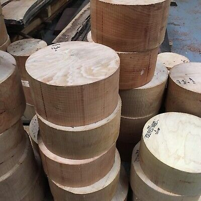 figured Maple Bowl Blanks Woodturning/Exotic Wood (deep Blanks ) 7x5""