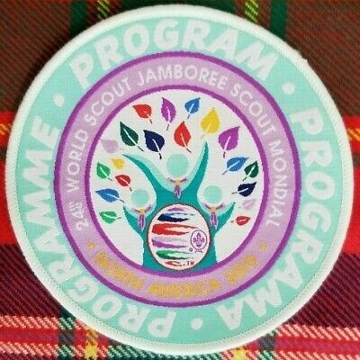 24th 2019 WORLD SCOUT JAMBOREE OFFICIAL PROGRAM GROUP PATCH