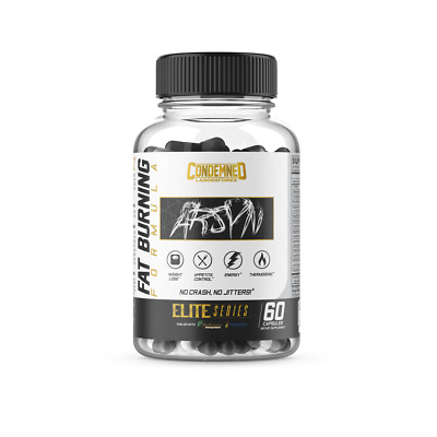 Condemned Labz Arsyn - Fat Burner / Energy / Focus / Weight Loss / FREE SHIPPING