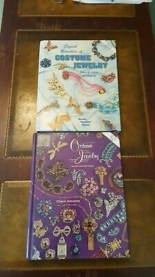 Two Collectors Identification & Value Guides For Costume Jewelry Hardcovers
