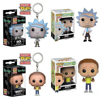 Funko Pop Rick And Morty Vinyl Action Figure Limited Edition Toy IN Box Kid Gift