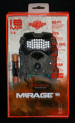 Wildgame Innovations Mirage 16 MP, 80 FT. TRUBark Scouting Trail Game Camera NEW