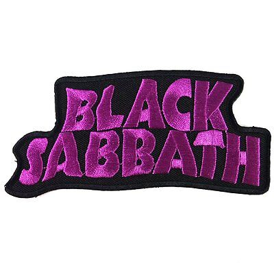 Patch Cube Black Sabbath Heavy Metal Punk Rock Band Iron on Patches, 2 by