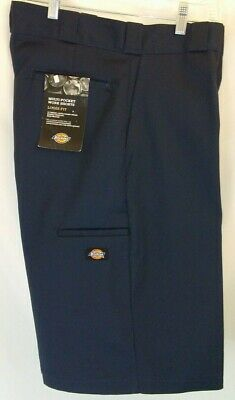 "Dickies 13"" Shorts Loose Fit Multi-Use Cell Phone Pocket Dark Navy 42283 42283DN"