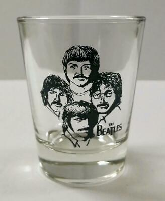 Very Nice The Beatles 1/2 oz. Shot Glass #2