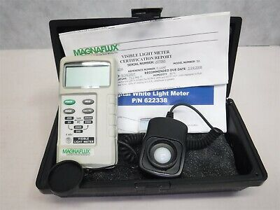 NEW Magnaflux Digital White Light/Visible Light Meter 622338 K8