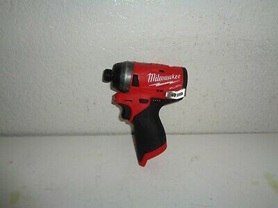 Milwaukee M12 FUEL 12-Volt Lithium-Ion Brushless 1/4 in. Hex Impact Driver