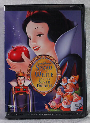 Snow White and the Seven Dwarfs 2-Disc DVD Special Edition New w/ Slipcover