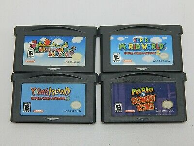 Lot of 4 Nintendo Game Boy Advance Games