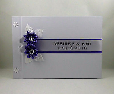 Wedding Guest Book Guest Book, Gästealbum in Many Colors