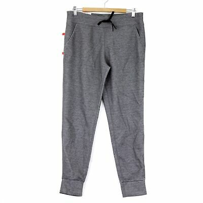 32 Degrees HEAT Women's Fleece Tech Jogger Pant, Medium, Dark Grey