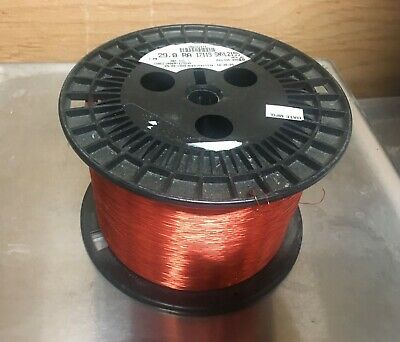 Magnet Copper Wire 29AWG SNYLZ155  7.25  Pound spool  Magnetic Coil Winding