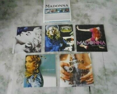 Madonna : Original Album Series : 5 Individual Cd Albums In Card Picture Sleeves