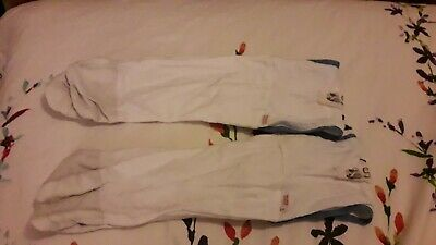 Scratch Sleeves 12-18m white