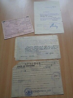 Ww2 (1944-1945) German & French Documents - One Woman's Fascinating Story.