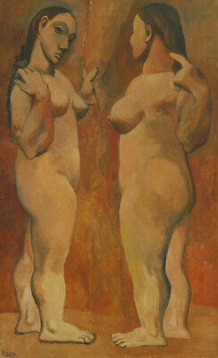 Art Canvas HD Printed Oil Famous Painting Pablo Picasso Two Nudes Wall Decor
