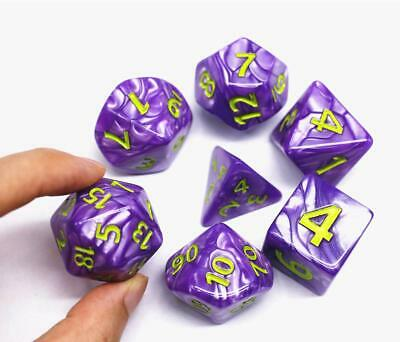 Hd Dice- Dnd Polyhedral Dice Set 25Mm Giant Dice For Dungeons And Dragons DD Pa