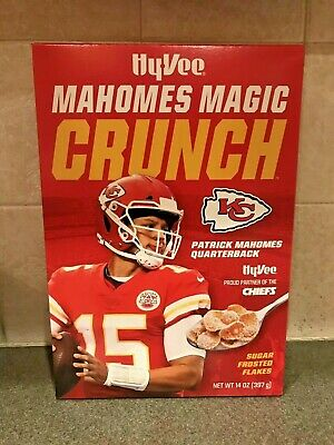One Box PATRICK MAHOMES Magic Crunch LIMITED COLLECTORS EDITION CEREAL