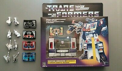 Transformers G1 Soundwave Reissue With Cassettes Used