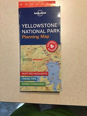 Yellowstone National Park Planning Map By Lonely Planet