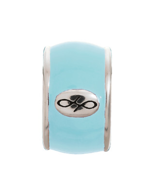 Authentic ENDLESS Sterling Silver SKY BLUE ENDLESS ENAMEL Solid 925 Charm #42100