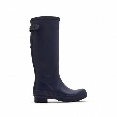 Joules FIELD WELLY Ladies Rain Snow Comfy Waterproof Rubber Wellies French Navy
