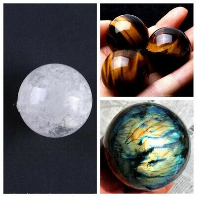 Crystal Ball Healing Citrine Natural Labradorite Rose Quartz Amethyst Sphere