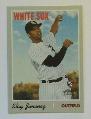 2019 Topps Heritage High Number Rookie ELOY JIMENEZ #516 WHITE SOX  RC