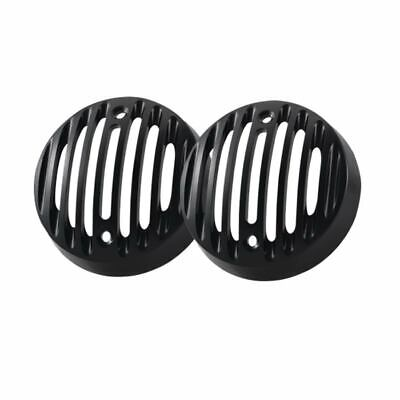 2x Protector Indicator Turn Signal Grill Covers For Royal Enfield Classic 500