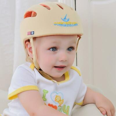 Soft Cotton Safety Helmet Protective Hat Cap Baby Toddler Head Protection Gear