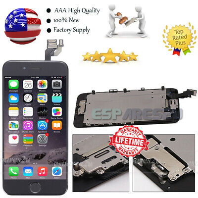 OEM For iPhone 6 4.7'' LCD Touch Complete Replacement Screen+Camera+Home Button