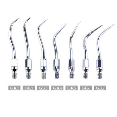 Dental Scaler Scaling Tips GK1-GK7 For Kavo Air Scaler Scaling Handpiece 7 Types
