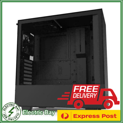 NZXT H510 Gaming Tempered Glass Mid-Tower ATX Desktop Computer PC Case Black